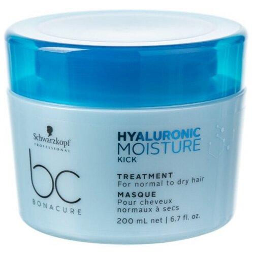 BC Bonacure Hyaluronic Moisture Kick Treatment Маска для волос увлажняющая, 200 мл four reasons маска для волос toning treatment coffee 200 мл
