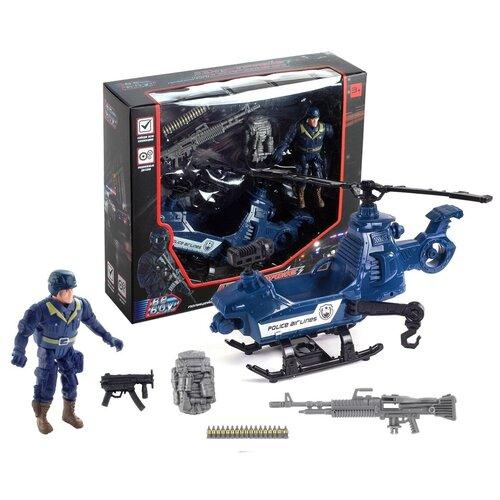 Купить Набор техники Beboy Полиция (IT106358) синий, Машинки и техника