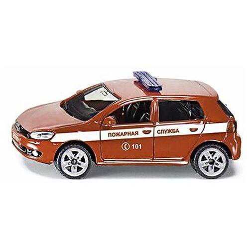 Фото - Легковой автомобиль Siku Пожарная служба (1437RUS), красный легковой автомобиль mattel