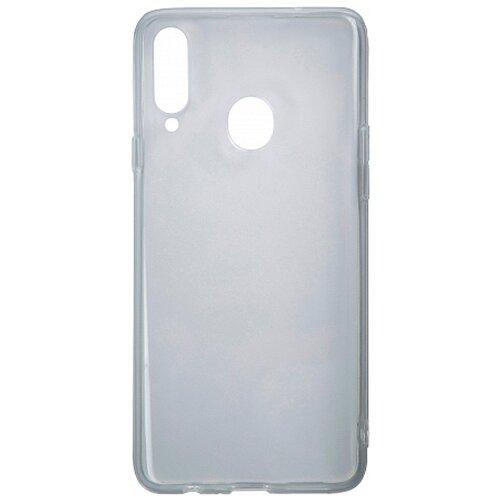 Силиконовый чехол прозрачный Samsung Galaxy A20S
