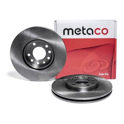 Диск тормозной передний вентилируемый (Производитель: METACO 3050235)