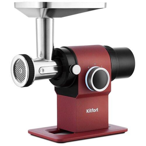Фото - Мясорубка Kitfort КТ-2110, красный мясорубка kitfort кт 2101 оранжевый