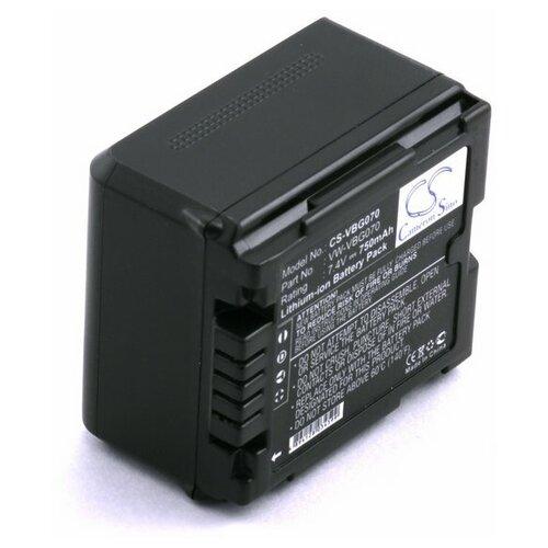 Аккумулятор для Panasonic VW-VBG070 VW-VBG070A VW-VBG130