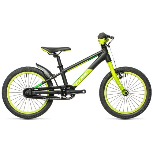Фото - Детский велосипед Cube Cubie 160 (2021) black´n´green (требует финальной сборки) велосипед cube elite c 68 race 29 2x 2016