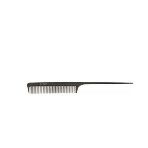 Купить Расческа рабочая DEWAL микрофибра с силиконом, с хвостиком, антистатик, серая 20 см DEWAL MR-JF0011