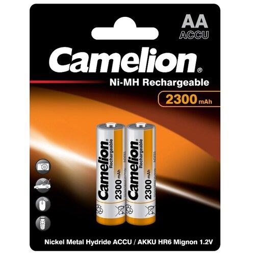 Фото - Аккумулятор Ni-Mh 2300 мА·ч Camelion NH-AA2300, 2 шт. аккумулятор ni mh 1000 ма·ч camelion nh aaa1100 2 шт