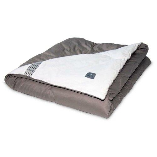 Одеяло стеганое двухстороннее из искусственного лебяжьего пуха Бел-Поль BALANCE 200х220 всесезонное
