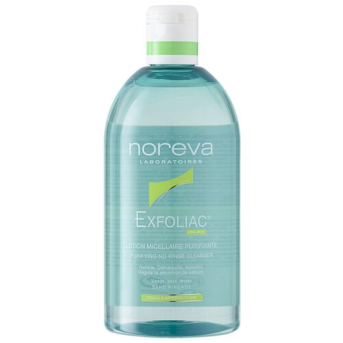 Купить Noreva laboratories Exfoliac Мицеллярный лосьон Lotion Micellaire Purifiante, 500 мл