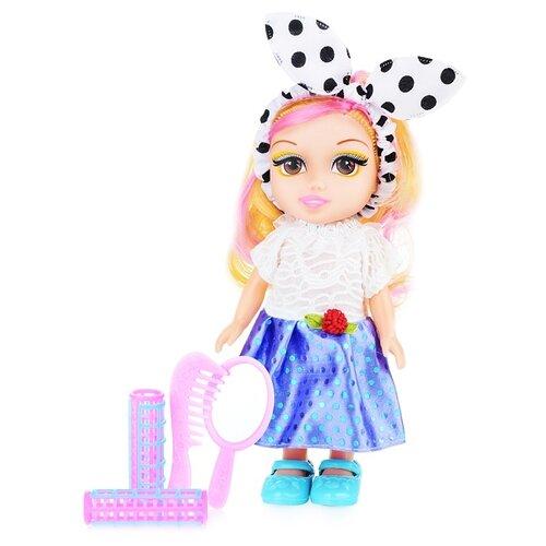 Фото - Кукла Oubaoloon 18 см, с аксессуарами, в пакете (YG2103-4) кукла oubaoloon martina 14 см 601 c