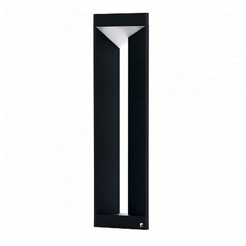 Фото - Наземный низкий светильник Eglo, 1х10W, черный, размеры (мм)-200x800x200, 3000К, плафон - белый накладной светильник novotech 3х12w белый размеры мм 105x38x236 3000к плафон белый черный