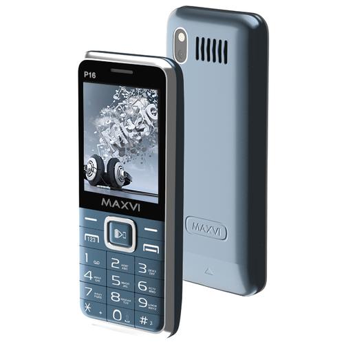 Телефон MAXVI P16 маренго