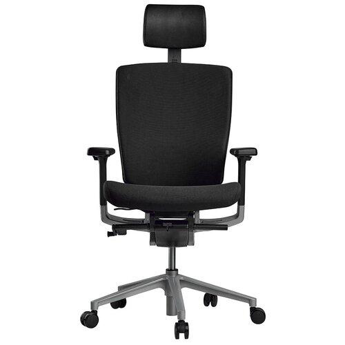 Эргономичное компьютерное кресло Schairs AEON-P01S BLACK