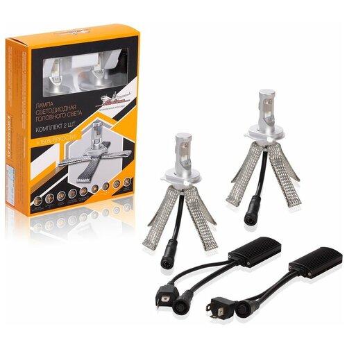 Лампа автомобильная светодиодная Airline Premium ALED-H4-03 H4 18W 2 шт.