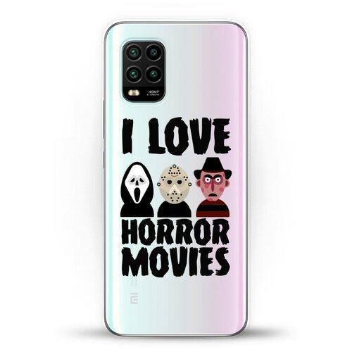 Силиконовый чехол Фильмы Ужасов на Xiaomi Mi 10 Lite
