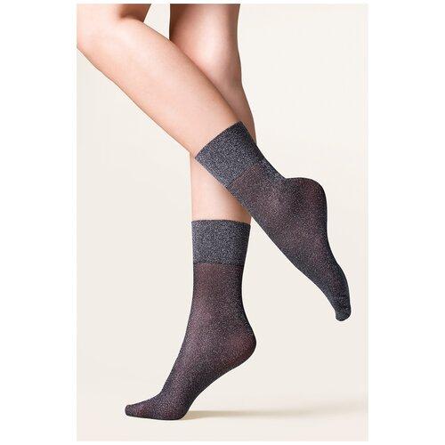 Капроновые носки Gabriella Tova 688, размер One size, nero