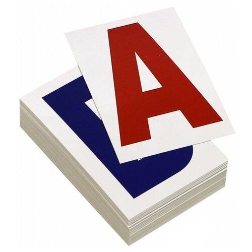 Набор карточек Вундеркинд с пелёнок Буквы 9.8x8.3 см 48 шт.