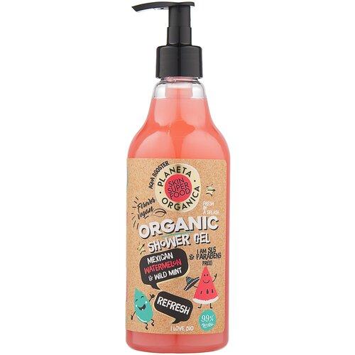 Гель для душа Planeta Organica Skin super food Refresh, 500 мл гель для душа planeta organica