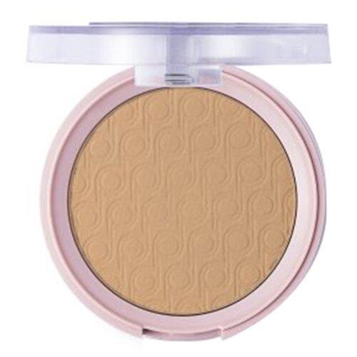 Pretty by Flormar Пудра компактная Mattifying Pressed Powder 008 dark beige компактная пудра basics smoothing silky pressed powder 11г 501 cool beige