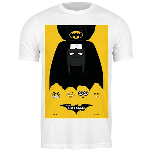футболка классическая лего фильм бэтмен the lego batman movie 1933125 цвет белый пол муж качество эконом размер l Футболка классическая Лего Фильм: Бэтмен / The LEGO Batman Movie #1932881 (цвет: БЕЛЫЙ, пол: МУЖ, качество: ЭКОНОМ, размер: L)