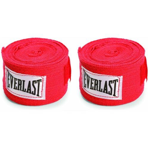 Кистевые бинты Everlast 4466 3,5 м красный