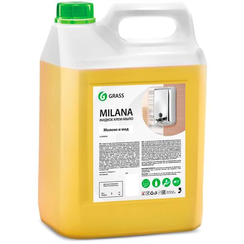 Крем-мыло жидкое Grass Milana молоко и мед, 5 л недорого