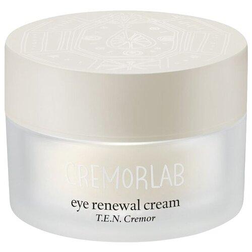 Cremorlab Крем для кожи вокруг глаз с высоким содержанием минералов T.E.N. Cremor Eye Renewal Cream, 25 мл cremorlab салфетки для снятия макияжа t e n cremor