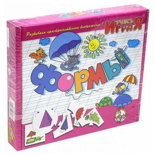 Настольная развивающая игра Учись играя - Формы настольная игра десятое королевство электровикторина учись играя 02843