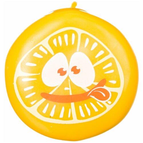 Игрушка-мялка BONDIBON Чудики Апельсин (ВВ3574) оранжевый