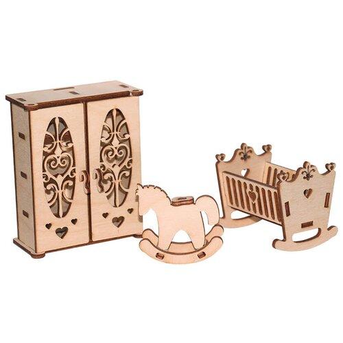 Мебель для кукол Paremo серия Я дизайнер, Детская, конструктор (PDA420-06)