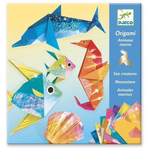 Фото - Набор для творчества DJECO Оригами с неоновым эффектом для детей (08754) наборы для творчества djeco оригами полярные животные