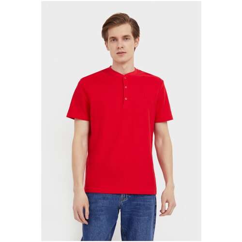 Поло FiNN FLARE BAS-20007 размер XL, красный (300) поло finn flare красный 48 размер
