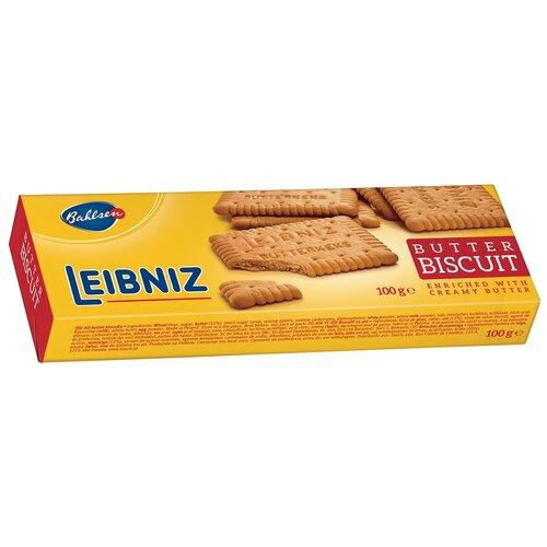 Печенье Bahlsen Leibniz Butter Biscuits сливочное, 100 г печенье bahlsen choco leibniz