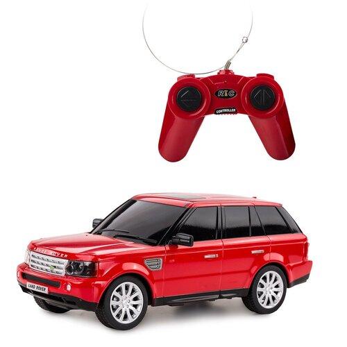 Легковой автомобиль Rastar Land Rover Range Rover Sport (30300) 1:24 21 см красный легковой автомобиль rastar land rover discovery 3 21900 1 14 черный