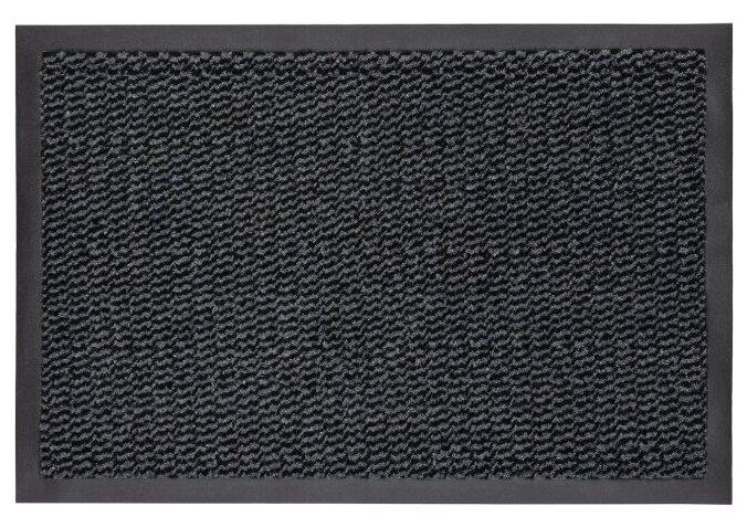 Коврик придверный Велий Сатурн антрацит 90*150/влаговпитывающий коврик/ковер в дом/в прихожую/коврик в коридор/ на ПВХ/резиновый/ не скользящий — купить по выгодной цене на Яндекс.Маркете