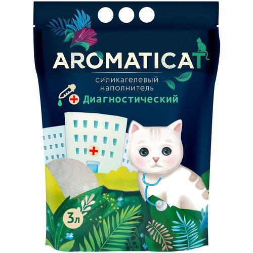 Впитывающий наполнитель AromatiCat силикагелевый Диагностический, 3 л