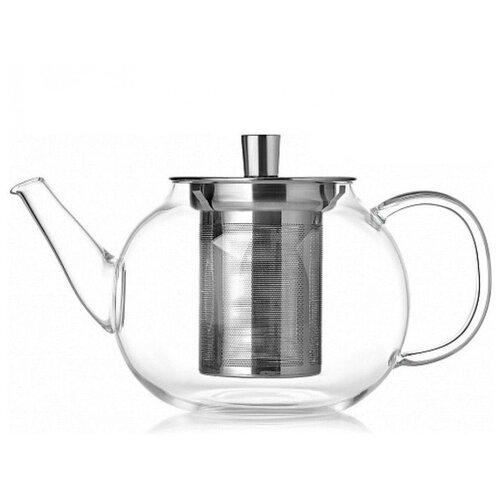 WALMER Заварочный чайник Viscount 1 л, прозрачный