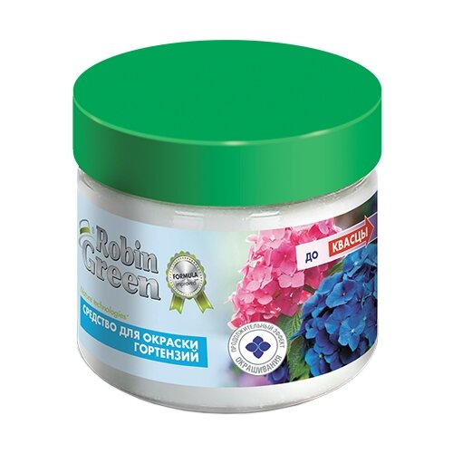 Удобрение Robin Green для окраски гортензий, 0.3 кг удобрение robin green лето осень 5 кг