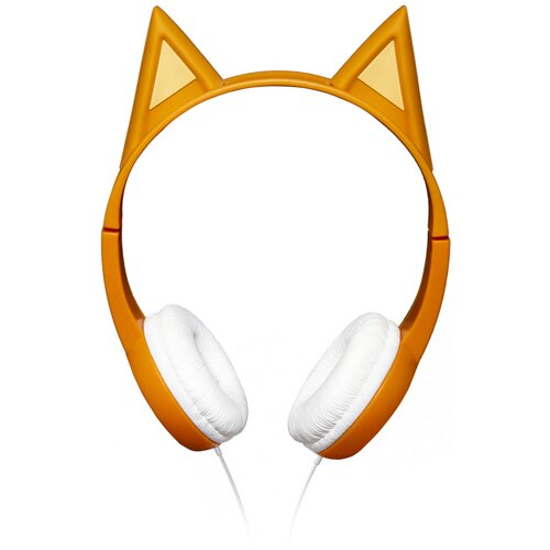 Наушники СТС HPC-100WD Три кота, оранжевый