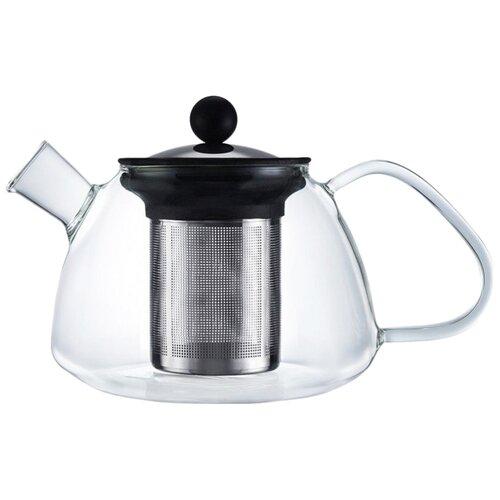 WALMER Заварочный чайник Boss 0,6 л, прозрачный