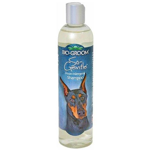 Шампунь Bio-Groom So-Gentle гипоаллергенный для кошек и собак 355 мл шампунь bio groom super white для собак белого и светлых окрасов 355 мл