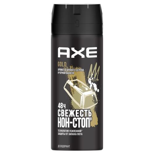 дезодорант спрей axe кожа и печеньки 150 мл Дезодорант спрей Axe Gold, 150 мл