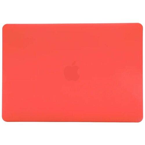 "Чехол Gurdini MacBook Air 13"" (2010-2017гг.) накладка пластик матовый Коралловый"