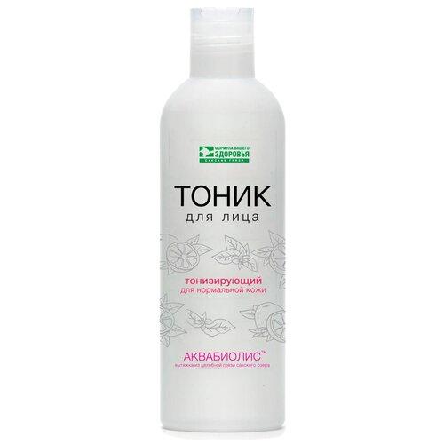 Тоник для лица АКВАБИОЛИС «Тонизирующий» для нормальной кожи с Сакской грязью, 200 мл.