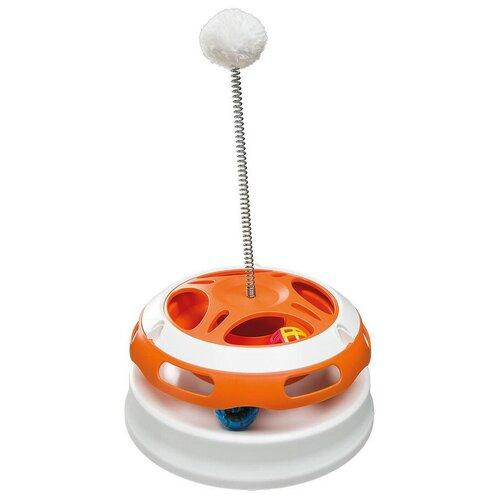 Набор игрушек для кошек Ferplast Vertigo белый/оранжевый