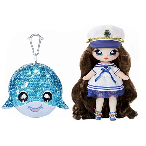 Кукла Na! Na! Na! Surprise Сверкающая серия 1 Sailor Blu, 22 см, 573753 недорого