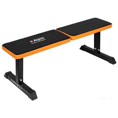 Скамья Alpin Top G-3 черный/оранжевый