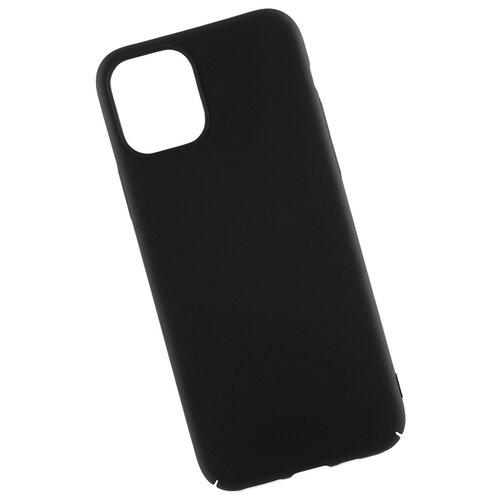 Чехол для iPhone 11 Pro soft touch пластиковый черный