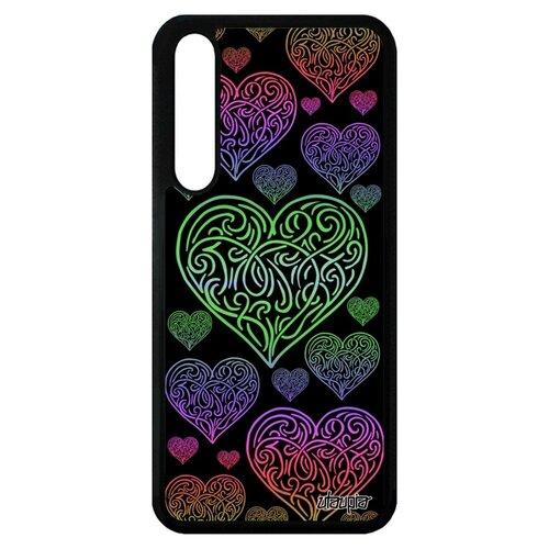 Чехол для Хуавей P20 Про оригинальный дизайн Сердце Символ Любовь