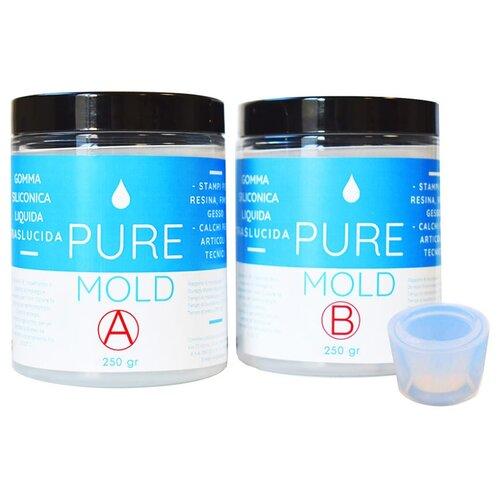 Полупрозрачный жидкий силикон Pure Mold 500 г, Resin Pro