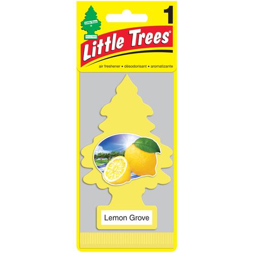 Фото - Little Trees Ароматизатор для автомобиля Ёлочка Лимонный сад (Lemon Grove) little trees ароматизатор для автомобиля u3s 32967 eu пина колада